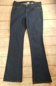 Eddie Bauer Slightly Curvy Bootcut Dark Wash Jeans